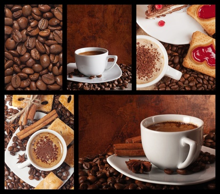 set of coffee photo