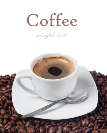 Frischer Kaffee Standard-Bild - 16024249