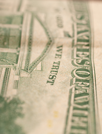 us dollar bill: US Dollar bill, super macro, close up photo