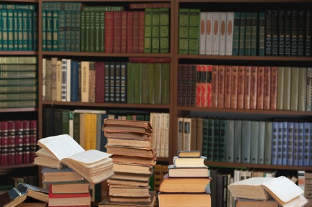 law library: Old books in the Library