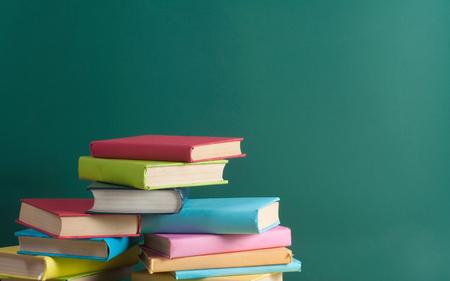 school books: School books Stock Photo