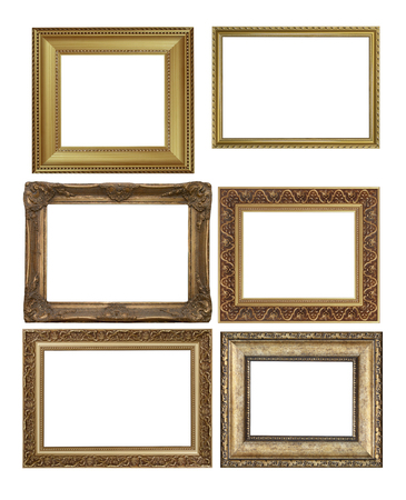 antique: antique picture frames. High resolution