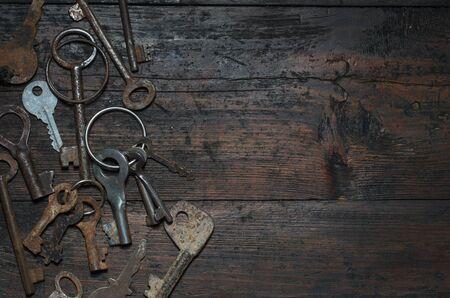 locksmith: vintage key
