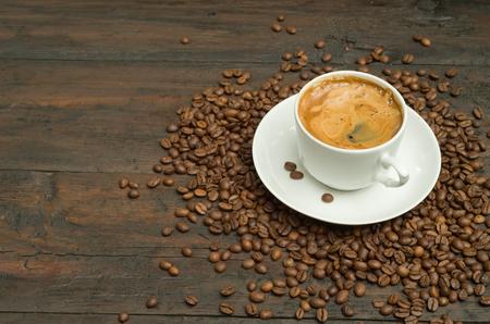 taza cafe: Taza de café. Foto de archivo