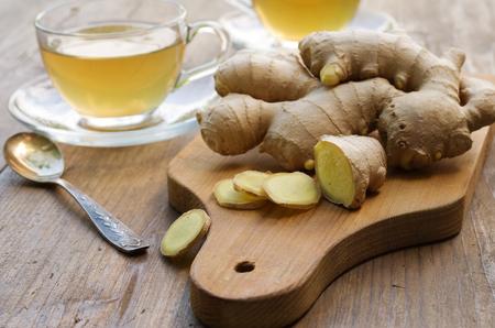 Ginger tea 스톡 콘텐츠