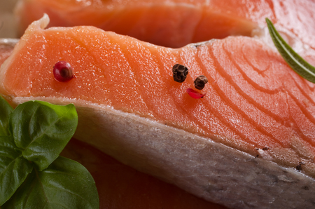 rosmarin: salmon
