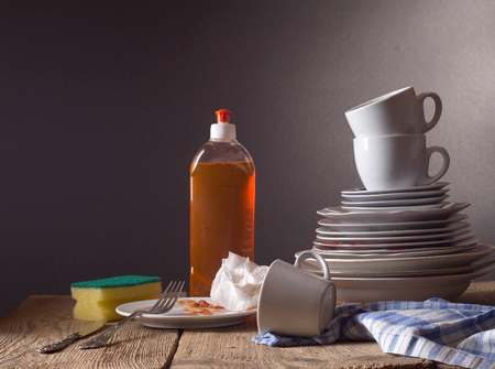 dirty dishes: Dirty dishes