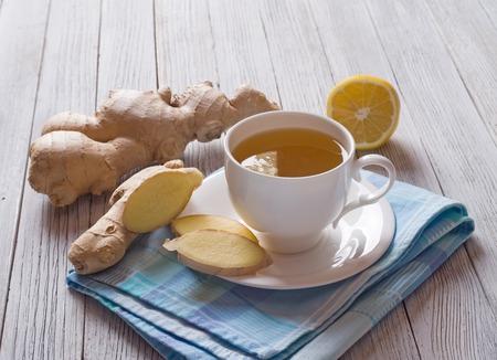 ginger health: Ginger tea Stock Photo