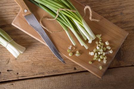 cebolla: Cebollas verdes