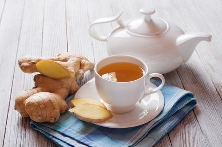 Ginger tea Banque d'images