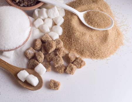 Hay varios tipos de azúcar