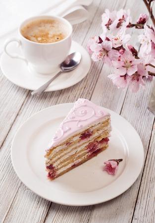 pink cake: Pink cake