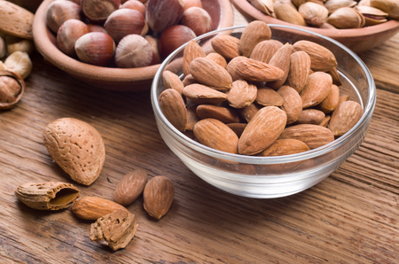 almond: almonds