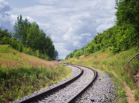 gravel: Railway tracks