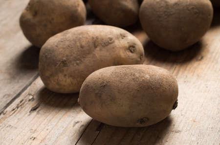 Background image of garden potatoes