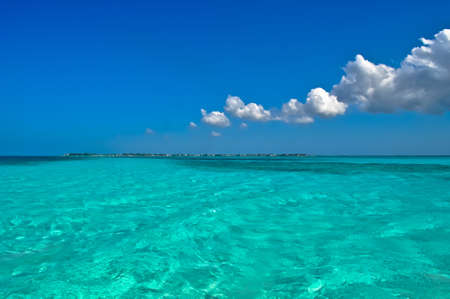 cayman islands: Yet another sunny day in Caribbean Stock Photo