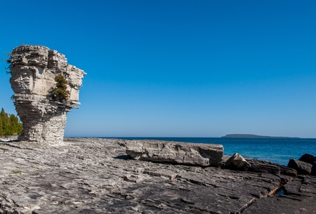 Flowerpot island, lake Huron photo