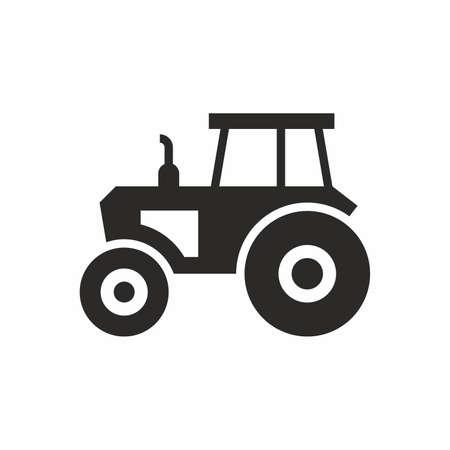 Tracteur icône