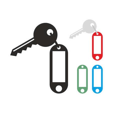 fob: Key icon set