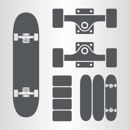fingerboard: Skateboard, fingerboard icon