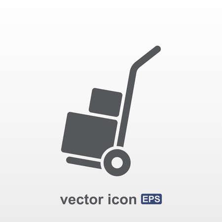 hand truck: Hand truck icon