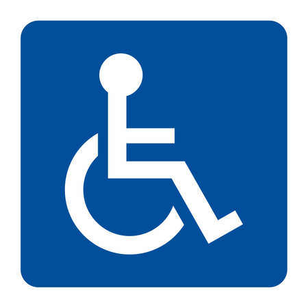disabled sign: Disabled sign