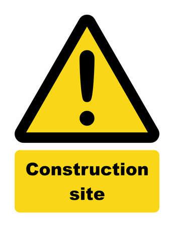 refit: Construction site sign