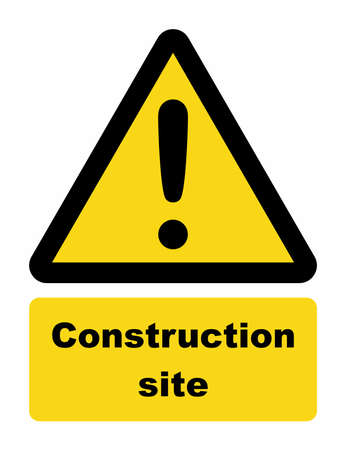 overhaul: Construction site sign