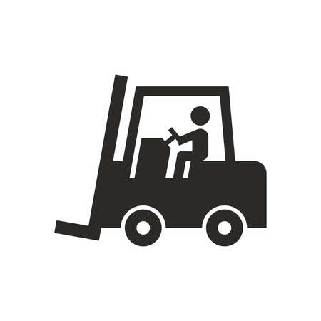 shipper: Forklift truck icon