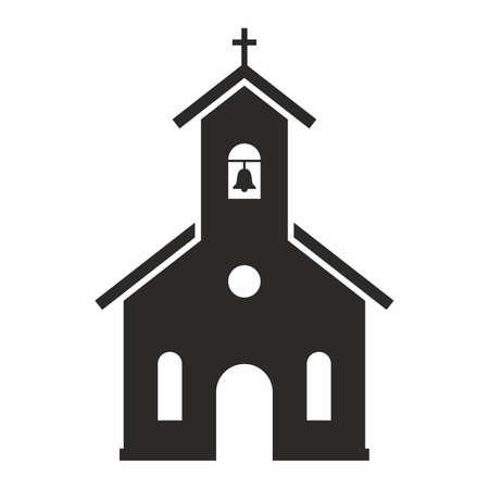 교회 아이콘 일러스트