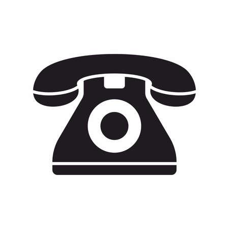 Telefono icona Archivio Fotografico - 65204368