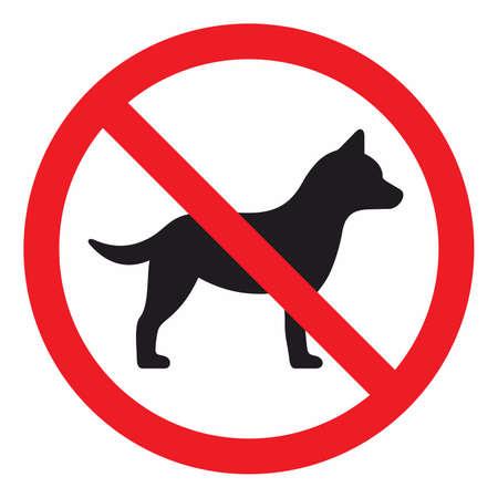 No firmar perros