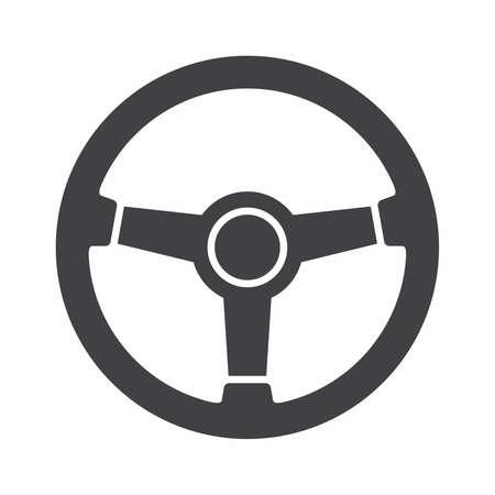 Icono del volante Foto de archivo - 73219771