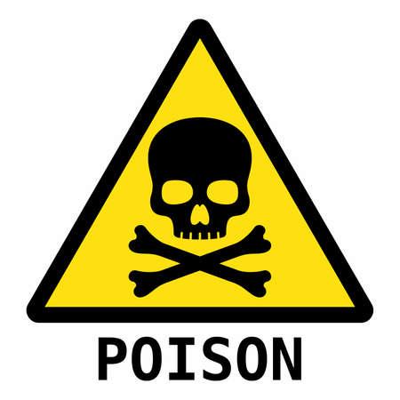 poison: Poison sign Illustration