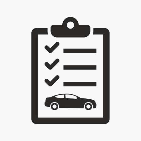 car: Car maintenance list icon