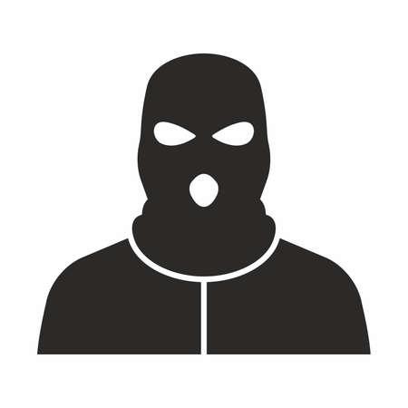 Bandit icon Illustration