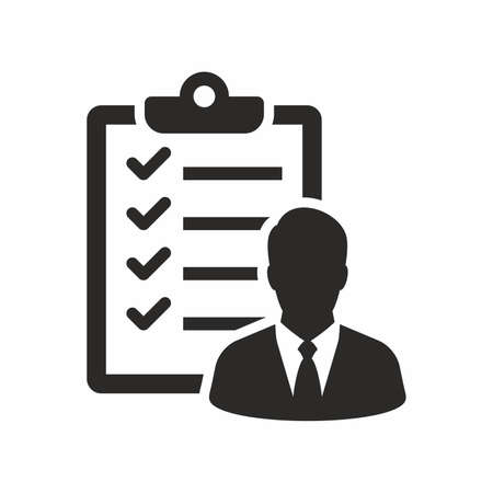 Checklist icon of candidate approved