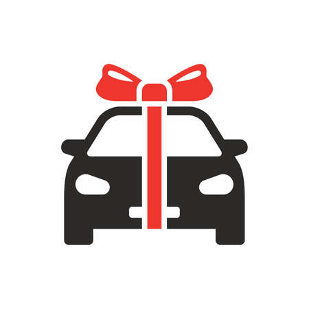 Car gift icon