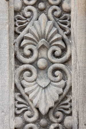 Architecture detail on stone