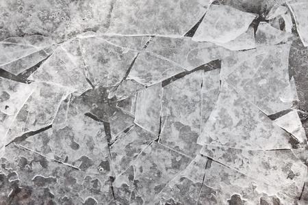 Broken ice structure Stock Photo - 20554574