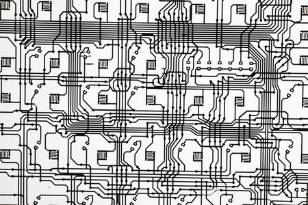 Electronic connections print like a background
