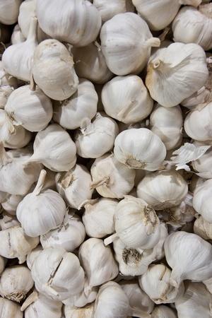 A lot of garlic like background