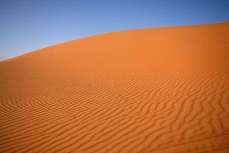 Sand dune desert in Morocco - Moroccan Sahara