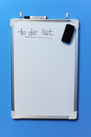 white board to do list Editorial