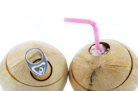 easier: The coconuts & Pop top lid, Making it easier to drink