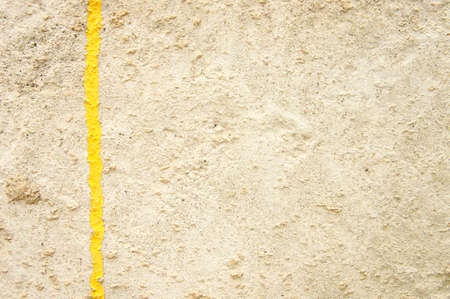 cement pole: Backgrounds cement pole with yellow line