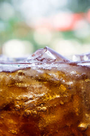 Soft drinks ,Sweet, thirst-quenching drinks popular. Stock Photo