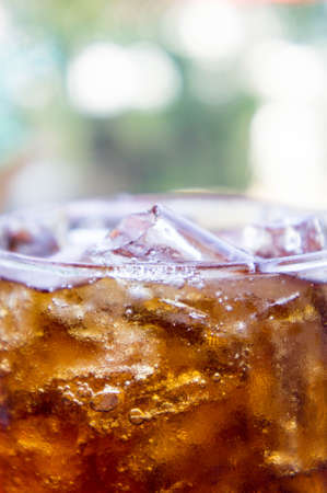 carbonation: Soft drinks ,Sweet, thirst-quenching drinks popular. Stock Photo