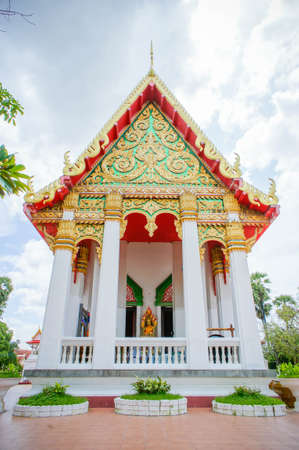 Wat Thai Temple classic style Thailand ,Sacred sites are the faith of Buddhists. Stock Photo