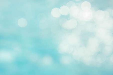 soyut yeşil mavi bulanıklık backgruond, duvar kağıdı mavi dalga güneş ışığı ile bokeh doku arka plan